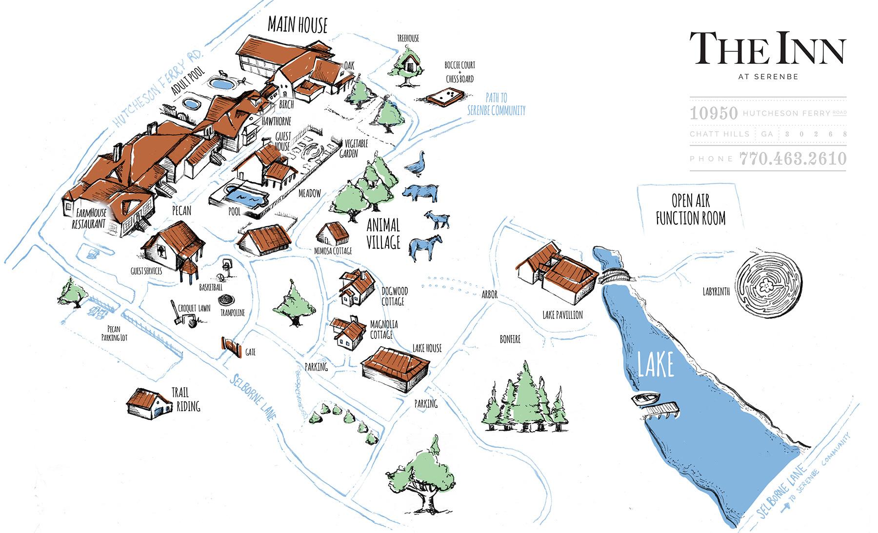 Inn Map